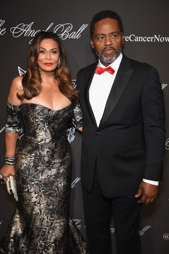 NEW YORK, NY - OCTOBER 20:  Tina Knowles (L) and Richard Lawson attend Angel Ball 2014 hosted by Gabrielle's Angel Foundation at Cipriani Wall Street on October 20, 2014 in New York City.  (Photo by Dimitrios Kambouris/Getty Images for Gabrielle's Angel Foundation)