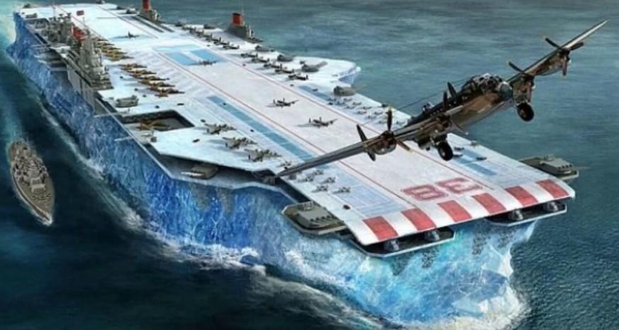 Habbakuk: Churchills Monsterschiff, der Albtraum der deutschen U-Boote?