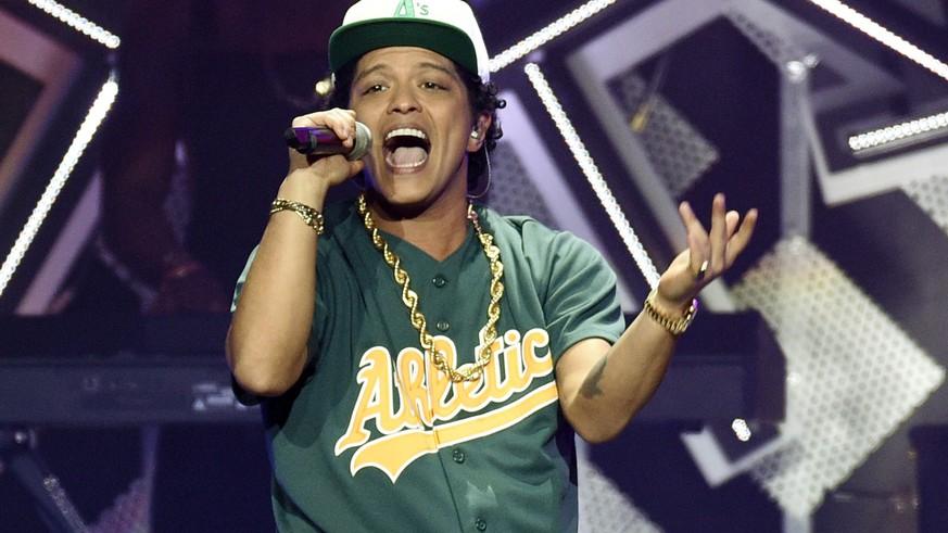 Bruno Mars ist
