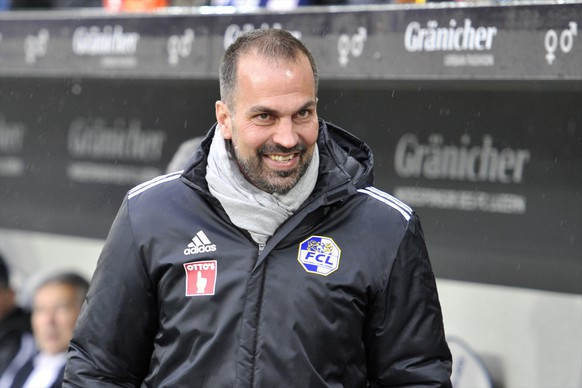 21.03.2015; Luzern; Fussball Super League - FC Luzern - FC Basel; Trainer Markus Babbel (Luzern) (Martin Meienberger/freshfocus)
