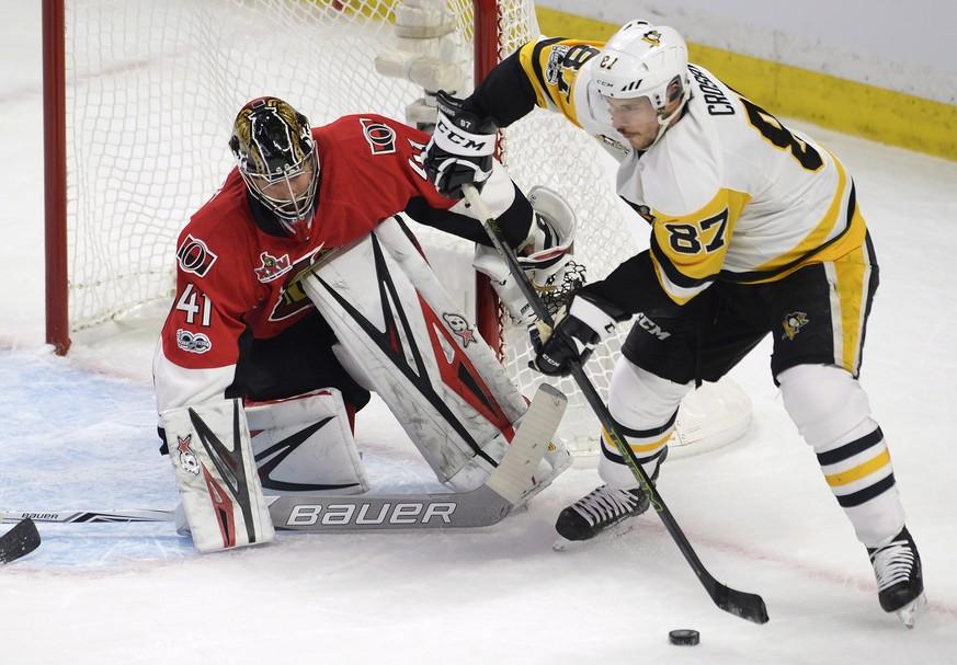 NHL-Playoffs: Pittsburgh gleicht gegen Ottawa aus