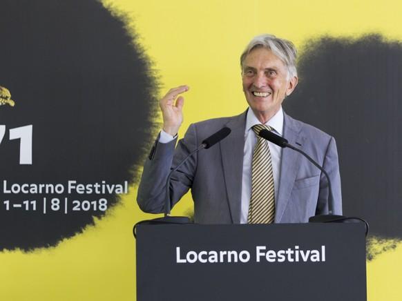 Der Präsident des Filmfestivals in Locarno, Marco Solari, wurde wegen der Lungenkrankheit Covid-19 auf der Intensivstation behandelt. (Archivbild)