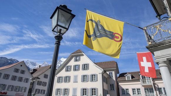Das Rathaus in Altdorf anlaesslich der Urner Regierungsratswahlen vom Sonntag, 8. Maerz 2020 im Rathaus in Altdorf. (KEYSTONE/Urs Flueeler).