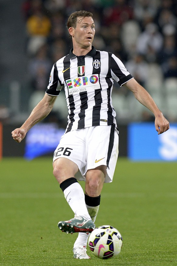 29.04.2015; Turin; Fussball SerieA - Juventus Turin - Fiorentina;Stephan Lichtsteiner (Juve) (Filippo Alfero/Insidefoto/freshfocus)