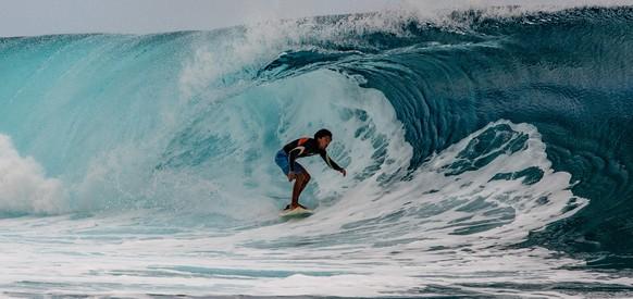 Surfen bei den Olympischen Spielen von Paris 2024? Natürlich auf Tahiti