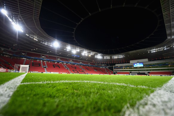 LEVERKUSEN, GERMANY - OCTOBER 22:  A general view ahead of the UEFA Champions League Group C match between Bayer 04 Leverkusen and FC Zenit at BayArena on October 22, 2014 in Leverkusen, Germany.  (Photo by Dennis Grombkowski/Bongarts/Getty Images)