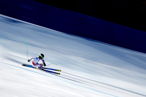 BEAVER CREEK, CO - FEBRUARY 05: Andreas Zampa of Slovakia races during the Men's Super-G on the Birds of Prey racecourse on Day 4 of the 2015 FIS Alpine World Ski Championships on February 5, 2015 in Beaver Creek, Colorado.  (Photo by Doug Pensinger/Getty Images)
