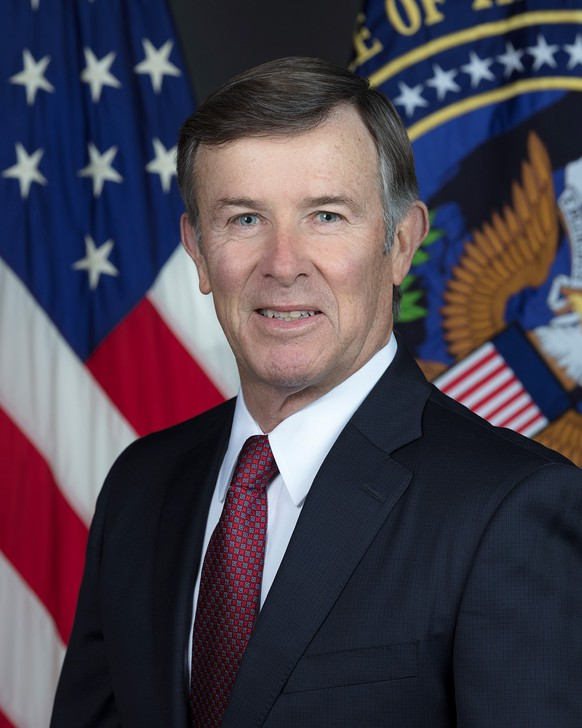 epa07870339 An undated handout photo made available by the Office of the Director of National Intelligence (DNI) shows Acting Director of National Intelligence Joseph Maguire. Acting DNI chief Joseph Maguire is set to testify on 26 September 2019 on the handling of a whistleblower complaint over allegations about US President Trump's communication with Ukraine. Maguire assumed the role of Acting DNI on 16 August 2019.  EPA/OFFICE OF THE DIRECTOR OF NATIONAL INTELLIGENCE HANDOUT  HANDOUT EDITORIAL USE ONLY/NO SALES