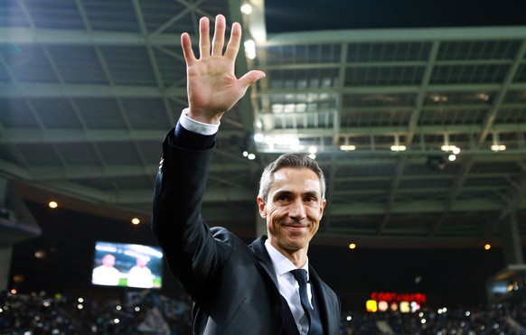 *** ARCHIV *** Basel, 10.03.2015, Fussball Champions League, FC Porto - FC Basel, Basels Trainer Paulo Sousa (Pascal Muller/EQ Images)