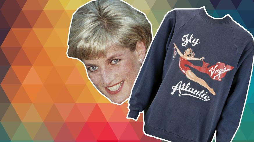 Prinzessin Dianas Pullover für 53 000 Dollar versteigert