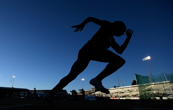 SACRAMENTO, CA - JUNE 27: Shannon Leinert competes in the women's 800 meter semi finals during day 3 of the USATF Outdoor Championships at Hornet Stadium on June 27, 2014 in Sacramento, California.   Ezra Shaw/Getty Images/AFP== FOR NEWSPAPERS, INTERNET, TELCOS & TELEVISION USE ONLY ==