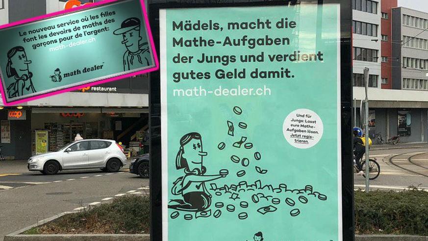 Dieses Plakat sorgt derzeit in mehreren Städten für Verwirrung – das steckt dahinter