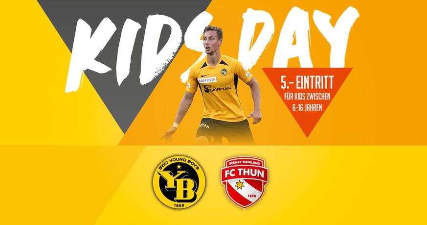 Gewinne jetzt Tickets für das Spiel BSC YB – FC Thun!