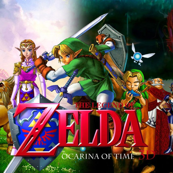 ocarina of time, zelda